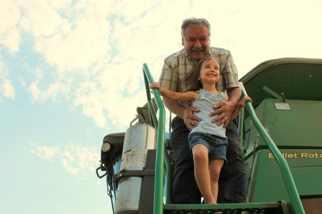 Dad and Kaylia