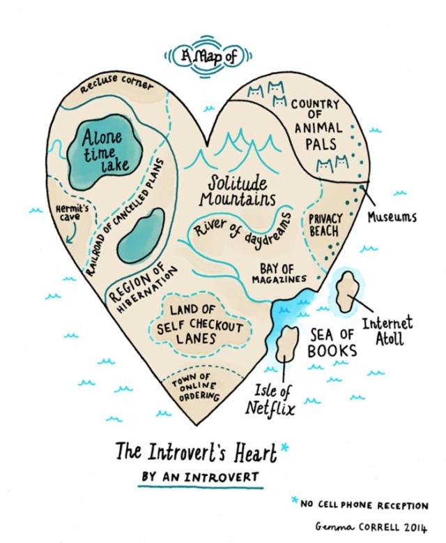 Introvert map