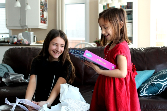 Anika and Kaylia