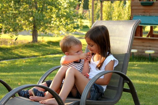 Ev and Kaylia