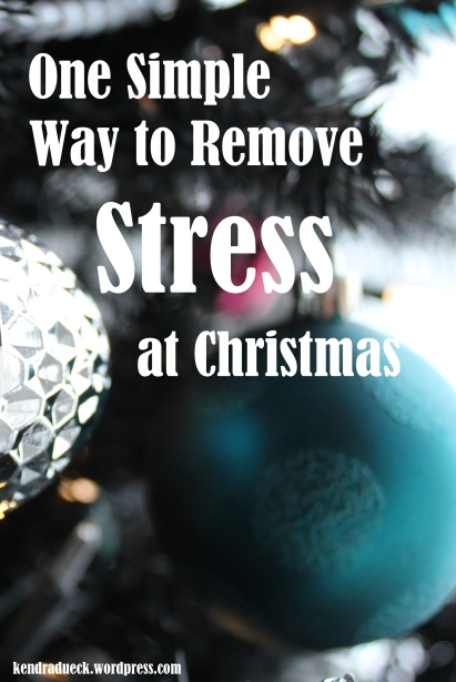 Remove Stress at Christmas